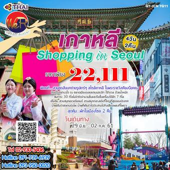 เกาหลี Shopping in Seoul