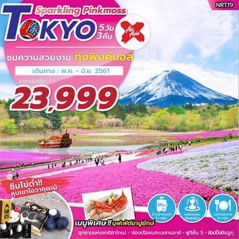 ทัวร์ญี่ปุ่น TOKYO SPARKLING PINKMOSS 5 วัน 3 คืน