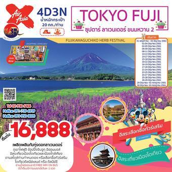 ทัวร์ญี่ปุ่น TOKYO FUJI 4วัน 3คืน ซุปตาร์ ลาเวนเดอร์ ขนมหวาน 2