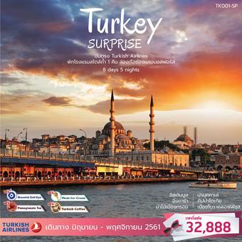 ทัวร์ตุรกี SURPRISE TURKEY 8วัน 5คืน