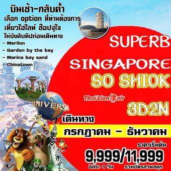 SUPERB SINGAPORE 3D2N