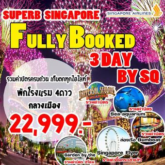 SUPERB SINGAPORE FULLY BOOKED 3D