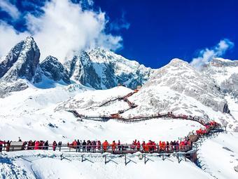 คุนหมิง พิชิตภูเขาหิมะมังกรหยก  โชว์ลี่สุ่ยจินซา 5 วัน 4 คืน