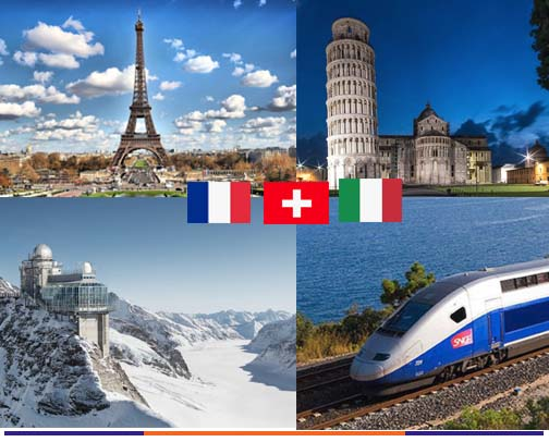 10 วัน อิตาลี สวิส ฝรั่งเศส