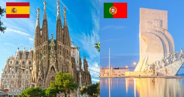 10 วัน สเปน โปรตุเกส