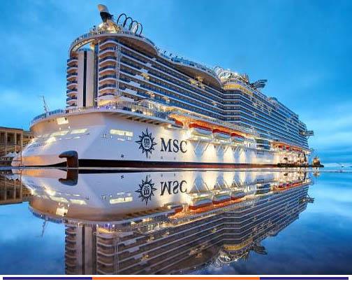 10 วัน ล่องเรือทะเลเมดิเตอร์เรเนียน MSC SEAVIEW