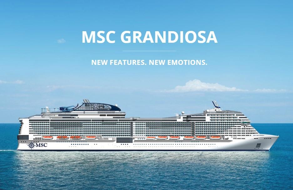 10 วัน ล่องเรือทะเลเมดิเตอร์เรเนียน MSC GRANDIOSA