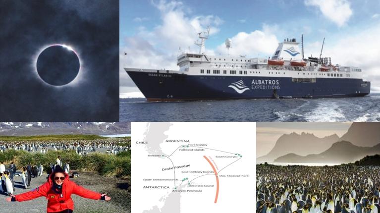 24 วัน ปรากฏการณ์สุริยุปราคา ณ ขั้วโลกใต้ Antarctica Eclipse Phenomena
