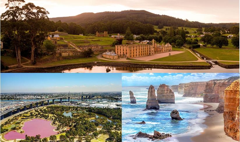 10 วัน ออสเตรเลีย แทสมาเนีย เมลเบิร์น