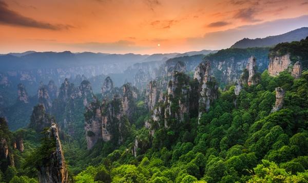 ทัวร์จีน ฉางซา จางเจียเจี้ย ภูเขาเทียนเหมินซาน 5 วัน 3 คืน โดยสายการบินAir Asia (FD)