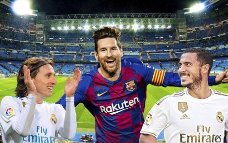 SFBEU1 ฟุตบอลนัดหยุดโลก El Clasico - Real Madrid VS Barcelona 7D4N TK - Feb-Mar2020