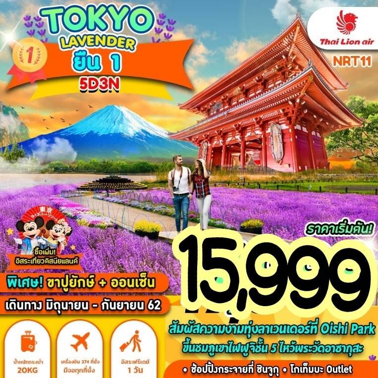 ทัวร์ญี่ปุ่น TOKYO LAVENDER ยืน 1 5D3N