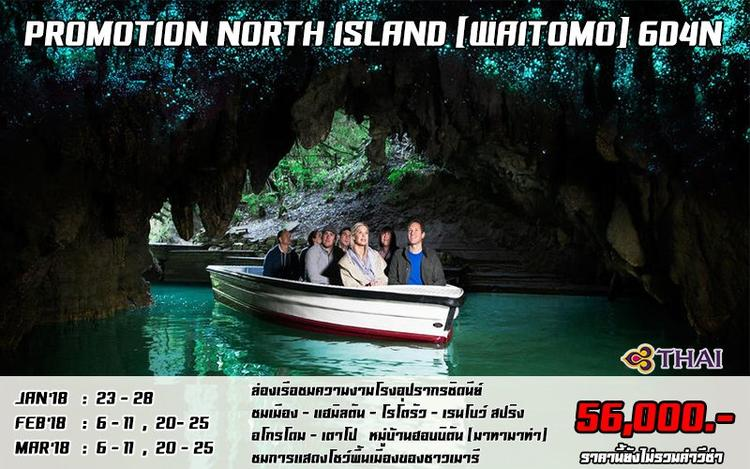 PROMOTION NORTH ISLAND (WAITOMO) 6D4N