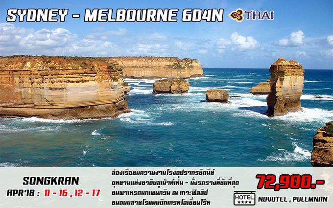SYDNEY - MELBOURNE 6D4N
