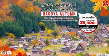 ทัวร์ญี่ปุ่น NAGOYA AUTUMN 4D3N (XJ)