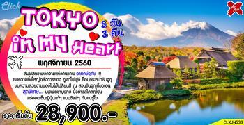 TOKYO in my heart 5D3N (XJ)