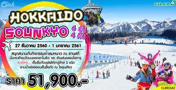 HOKKAIDO-SOUNKYO SKI & SNOW 6D4N (BR)