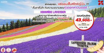 ทัวร์ญี่ปุ่น HOKKAIDO LAVENDER 6D4N (XJ)