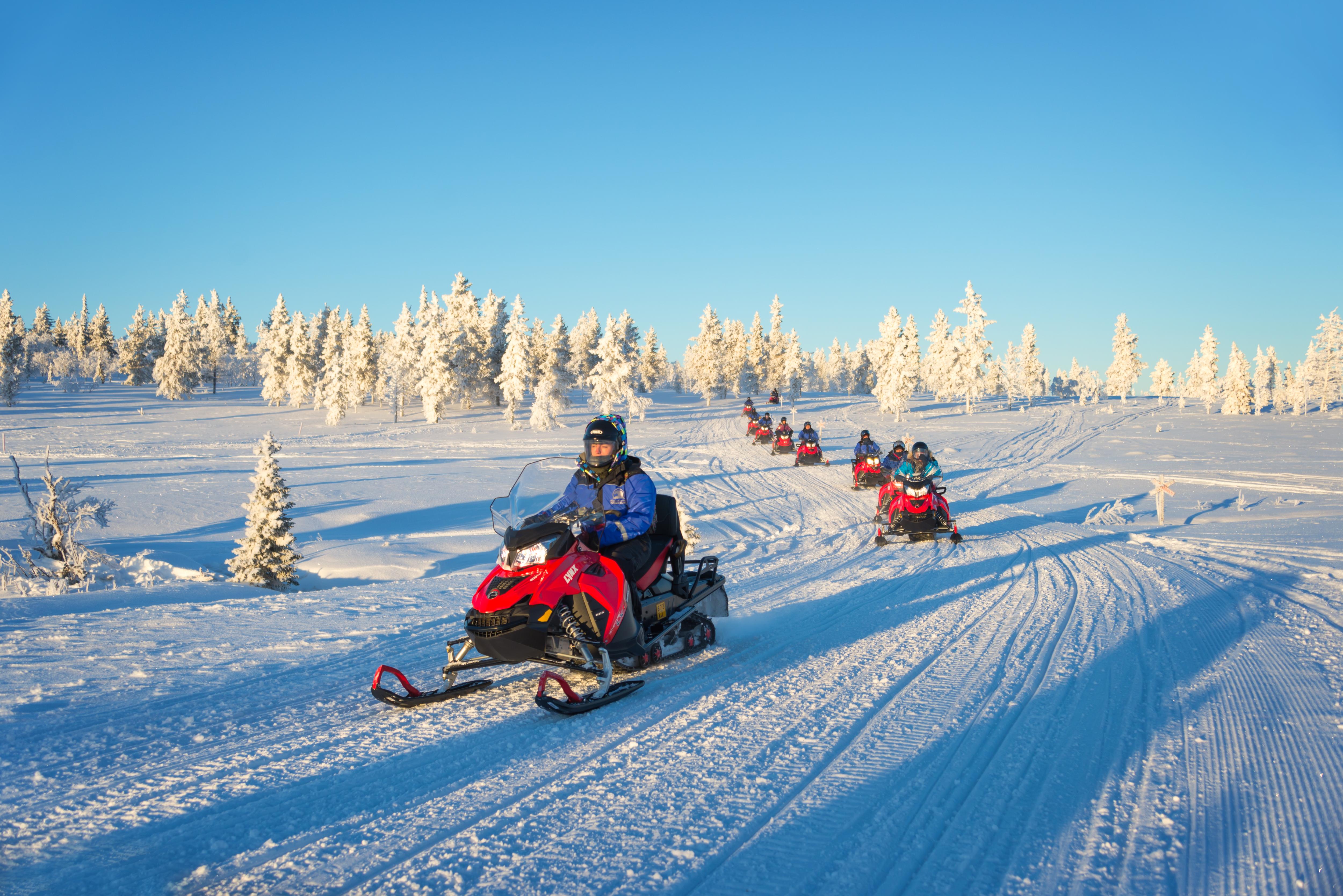 WAY0609H ฟินแลนด์ สโนโมบิล 9 วัน AY [HEL-HEL]  29 DEC - 06 JAN 2020