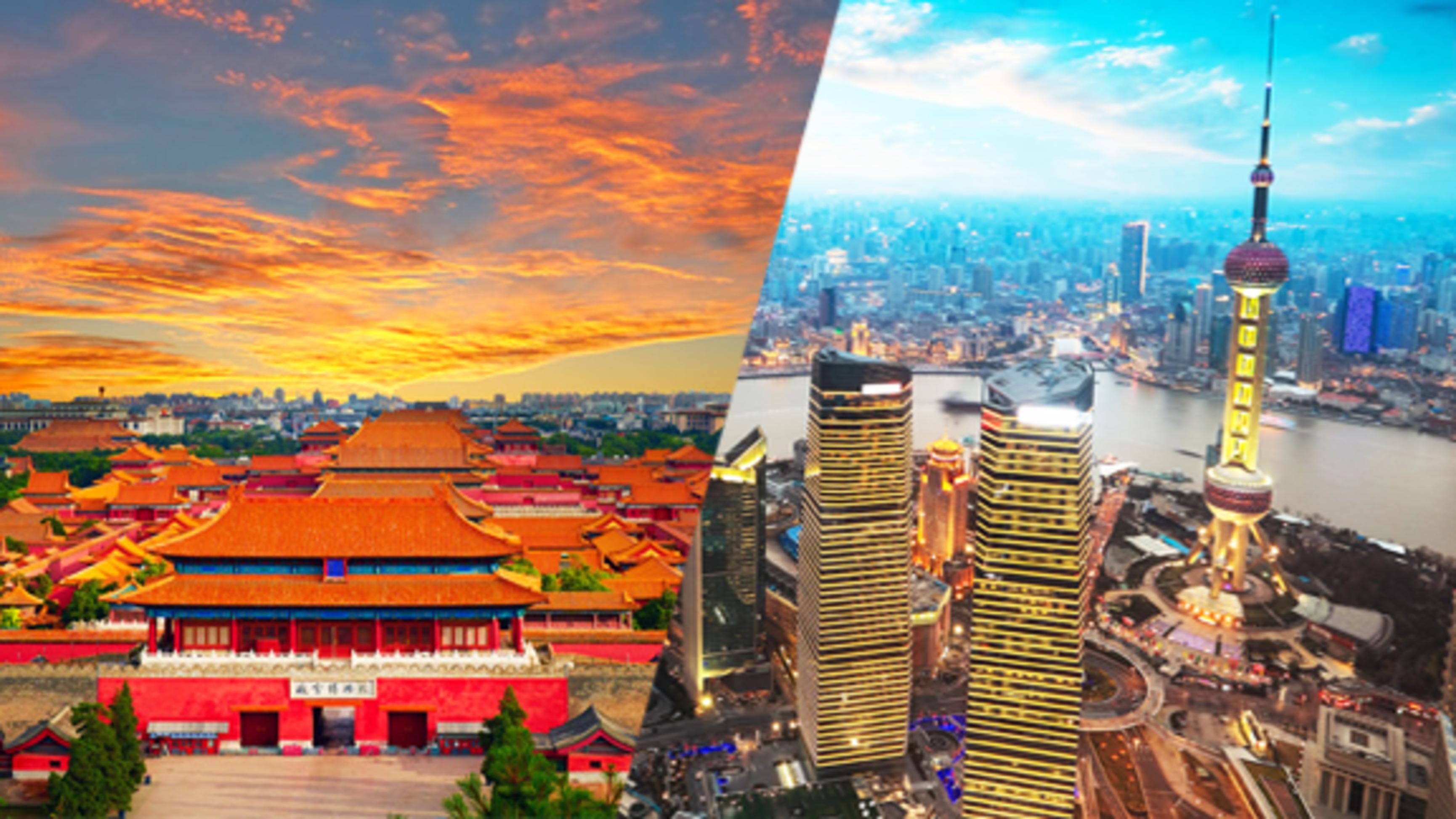 """สัมผัสกำแพงเมืองจีน ที่สุดของความยิ่งใหญ่ ไหว้พระขอพรวัดพระหยกขาว นั่งรถไฟความเร็วสูง พิเศษ!! ชมโชว์ """"กายกรรมปักกิ้ง"""""""