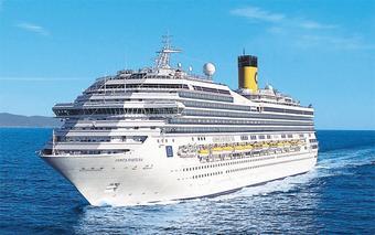 ทัวร์เรือสำราญ COSTA FORTUNA  แหลมฉบัง – เกาะสมุย - สิงคโปร์ 4 วัน 3 คืน BY TG/SQ