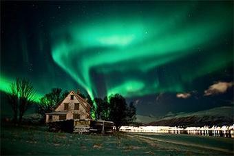 Touching Aurora  Russia