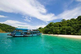กระบี่ ทะเลแหวก - เขื่อนเชี่ยวหลาน กุ้ยหลินเมืองไทย