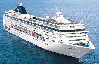 ล่องเรือสำราญ MSC LIRICA เมดิเตอร์เรเนียนฝั่งตะวันออก