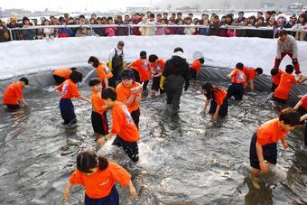 ICE FISHING KOREA