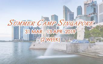 Summer Camp Singapore วันที่ 31 มีนาคม - 13 เมษายน 2562