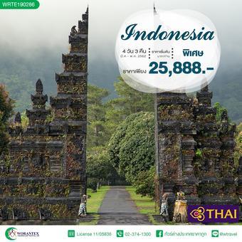 ทัวร์อินโดนิเซีย Wonderful !! อินโดนีเซีย บาหลี