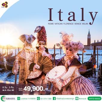 GRAND ITALY ROME VATICAN FLORENCE PISA VENICE MILAN