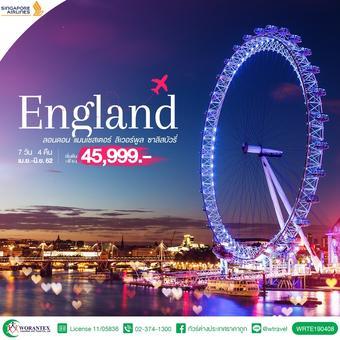 ทัวร์อังกฤษ HAPPINESS OF ENGLAND