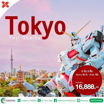 ทัวร์ญี่ปุ่น /TOKYO FUJI ซุปตาร์ ลาเวนเดอร์ บานฉ่ำ