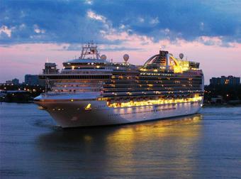 ทัวร์ล่องเรือสำราญ RUBY Princess Cruise ล่องอลาสก้า