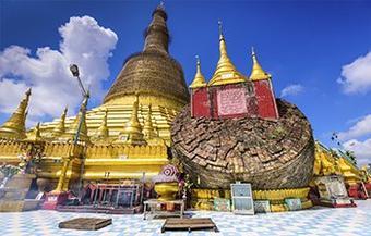 ทัวร์ พม่า ย่างกุ้ง บุญหล่นทับ ไหว้พระ เสริมบารมี  2วัน 1คืน