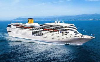 ทัวร์ล่องเรือสำราญ Costa neoRomantica เส้นทางโอกินาว่า - ฮวาเหลียน - คีลุง - ไทเป