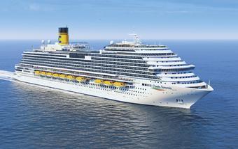 ล่องเรือสำราญ Costa Firenze แหลมฉบัง- สีหนุวิลล์ - เกาะสมุย - ล่องน่านน้ำ - สิงคโปร์