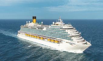 ล่องเรือสำราญ Costa Firenze แหลมฉบัง - สีหนุวิลล์ -เกาะสมุย - ล่องน่านน้ำ - สิงคโปร์