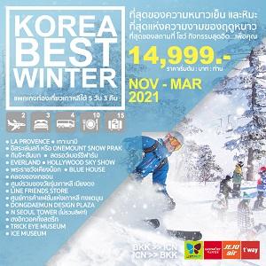 ทัวร์เกาหลี KOREA BEST WINTER 5D3N