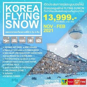 ทัวร์เกาหลี KOREA FLYING SNOW 5D3N