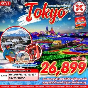 ทัวร์ญี่ปุ่น บทเพลงรักสายลมหนาว TOKYO FUJI SKI (5D3N)