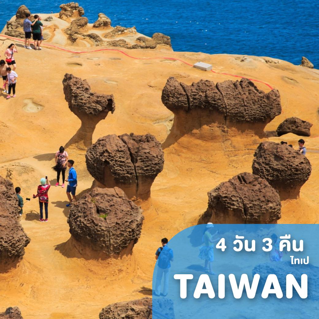 ทัวร์ไต้หวัน TAIWAN TIGER 4 วัน 3 คืน IT ( FOMS )