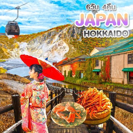 ทัวร์ญี่ปุ่น HOKKAIDO HAKODATE PREMIUM AUTUMN IN HOK 6 วัน 4 คืน TG (TTNT)