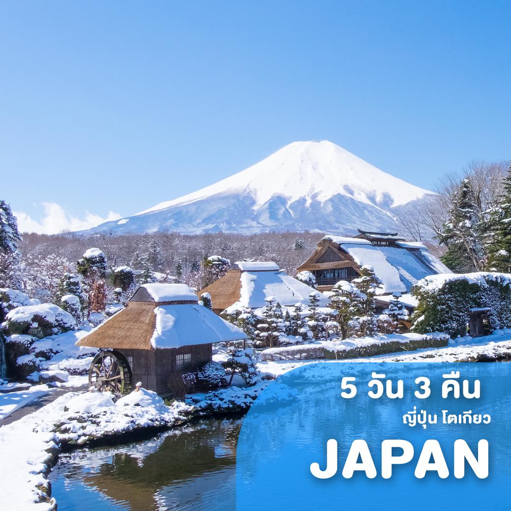 ทัวร์ญี่ปุ่น TOKYO FUJI NIKKO ซุปตาร์ ซามูไร AUTUMN 5 วัน 3 คืน XJ ( TTNT )