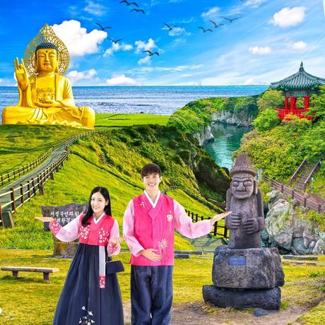 ทัวร์เกาหลี เชจู EXPRESS JEJU IN SUMMER 3 วัน 1 คืน 7C ( TRWT )