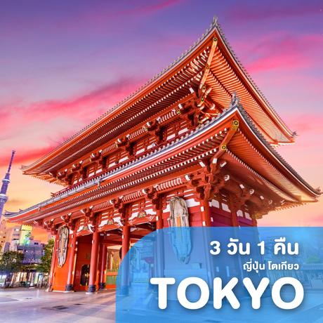 ทัวร์ญี่ปุ่น โตเกียว 3 วัน 1 คืน XJ ( MEET )