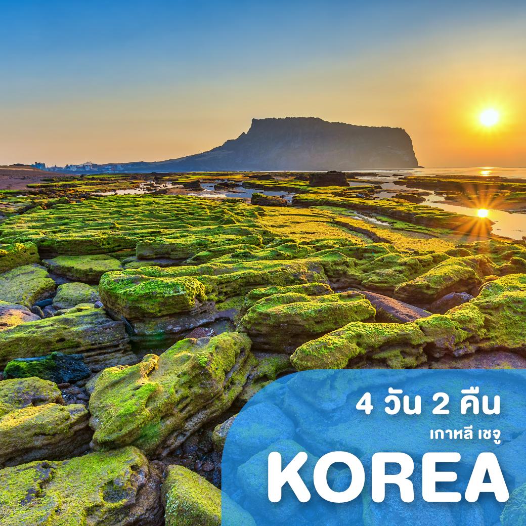 ทัวร์เกาหลี เชจู 4 วัน 2 คืน 7C