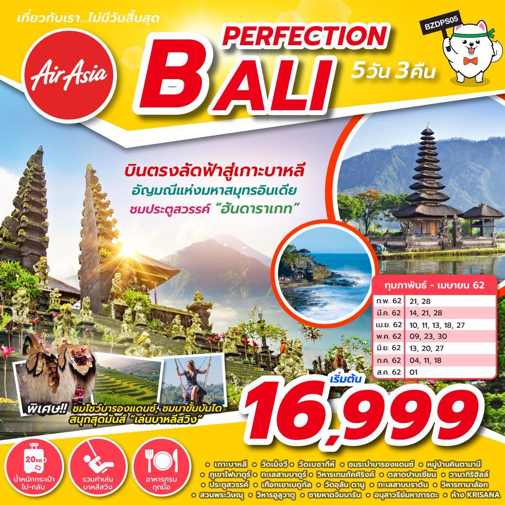 BZDPS05 PERFECTION BALI 5D3N FD