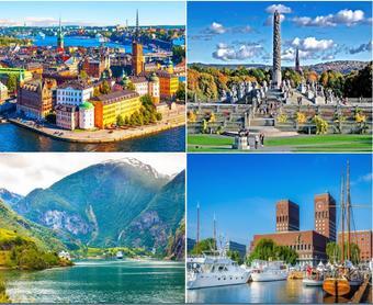 ทัวร์สแกนดิเนเวีย นอร์เวย์ สวีเดน เดนมาร์ค ฟินแลนด์ 9 วัน